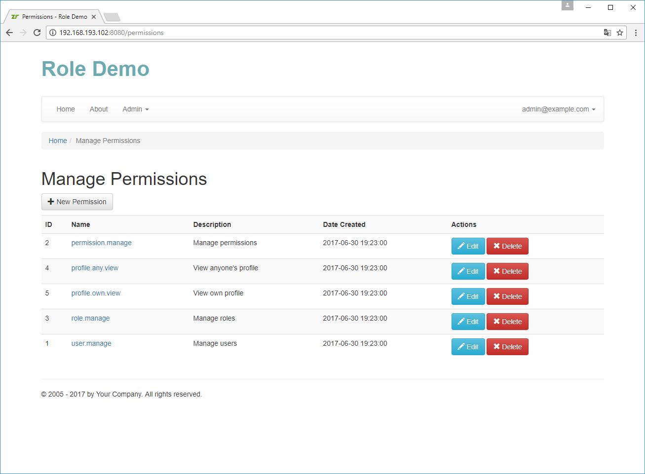 Implementing Permission Management – Using Zend Framework 3