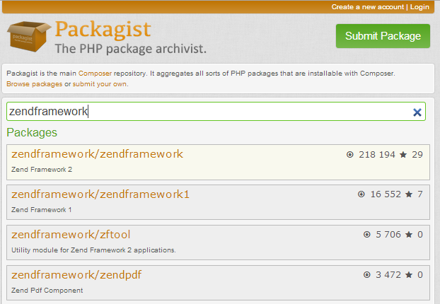 Advanced Composer Usage – Using Zend Framework 3
